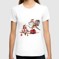santa T-shirts featuring Santa by Anna Shell