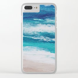 Take Me There Clear iPhone Case