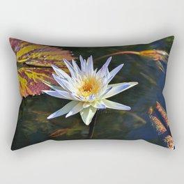 A Drop of Golden Sun Rectangular Pillow