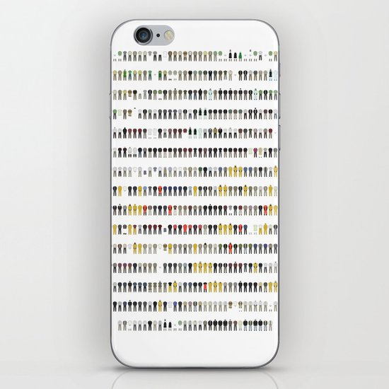 Walter White's Wardrobe - Complete Series iPhone & iPod Skin