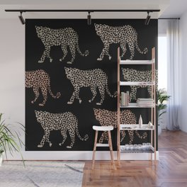 Leopards Wall Mural