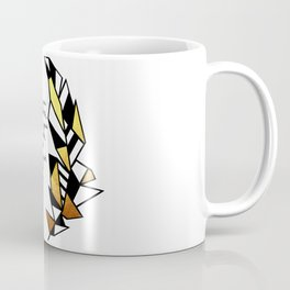 Gold Feather & Psalm 91:4 Coffee Mug
