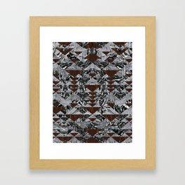 Wood Galaxy Framed Art Print