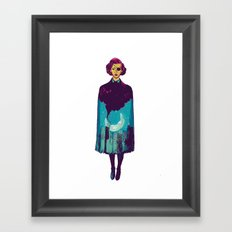 The night is yours  Framed Art Print