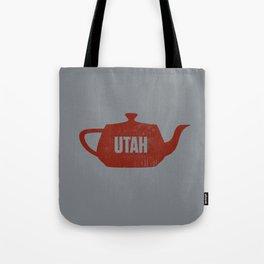 Utah Teapot Tote Bag