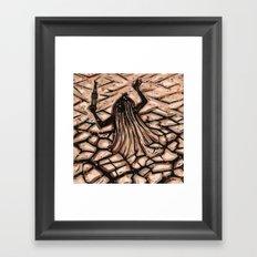 Orixás - Obaluaiê Framed Art Print