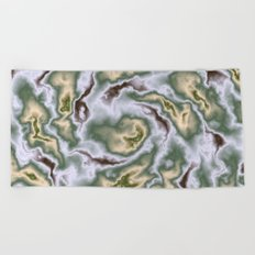 Turbulence in MTL01 Beach Towel
