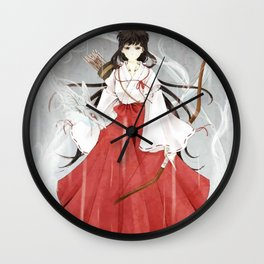 Japonese fight art Wall Clock
