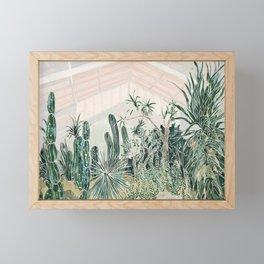 Cactus garden (2) Framed Mini Art Print