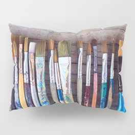love me some paintbrushes Pillow Sham