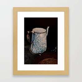 Coffee Pot, Haunted Stove- Hell's gate, B.C. Framed Art Print