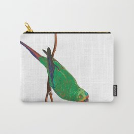 Swift Green Parrot Carry-All Pouch