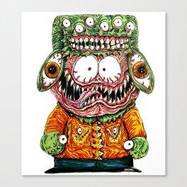 Monster Boy Canvas Print