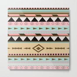 Aztec Pattern No. 18 Metal Print