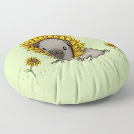 Pugflower Floor Pillow