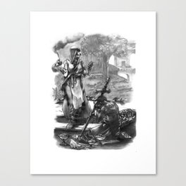 Call to Arms Canvas Print