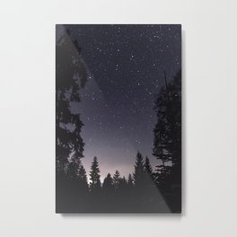 Starry Sunset | Nature and Landscape Photography Metal Print