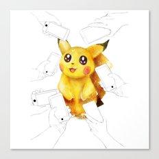 pokemonpikachu   Canvas Print