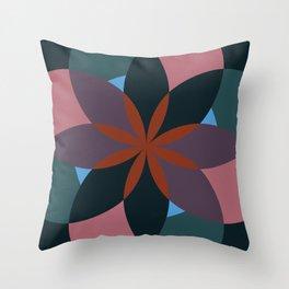 Douche Flower Throw Pillow