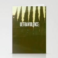 ultraviolence Stationery Cards featuring Ultraviolence by TrailerMagic