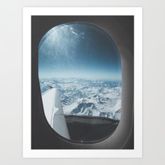 Chilean Andes Art Print