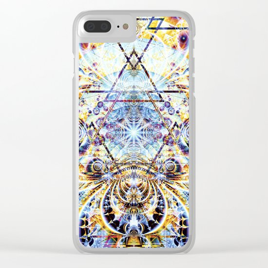 Psyberdelic Intensity Clear iPhone Case