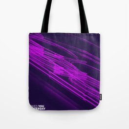 The Love Series 200 Purple Tote Bag