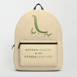 Asparagoose & Her Asparagoslings Backpack