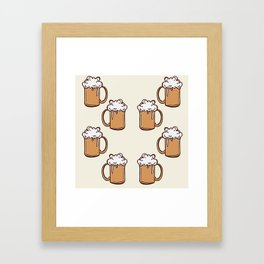 Three Cheers for Beers Framed Art Print