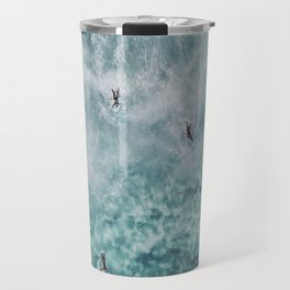 lets surf xx Travel Mug