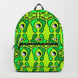 green feets Backpack
