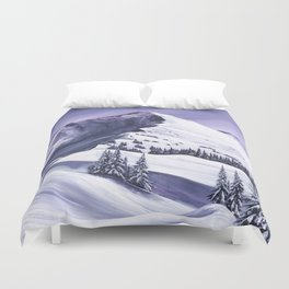 Pointe De Chesery Duvet Cover