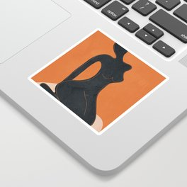 Abstract Nude II Sticker