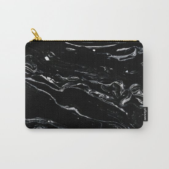 Black Marble Space #society6 #decor #buyart Carry-All Pouch