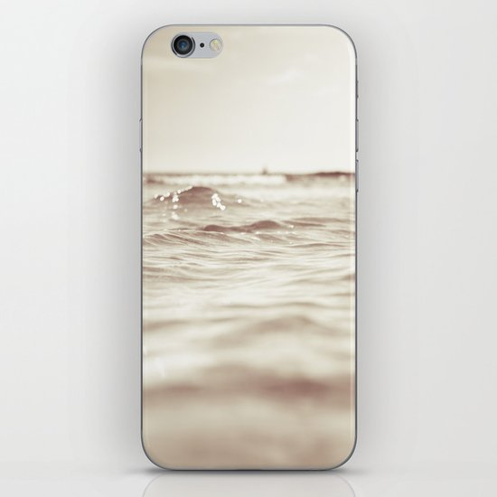 Let´s go to the bleech iPhone & iPod Skin