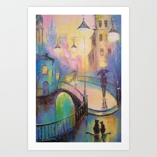 Time of love Art Print