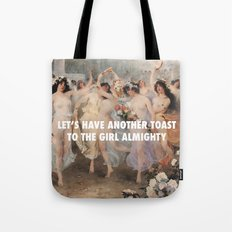 Floralia | Girl Almighty Tote Bag