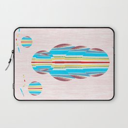 Symmetrical Circle Being: Innerlight Laptop Sleeve