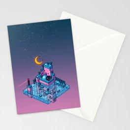 LoFi Island Stationery Cards