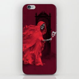 Red Death iPhone Skin
