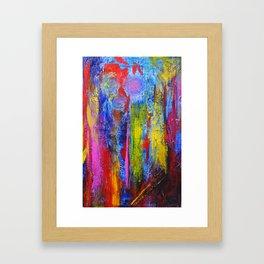 SCRAPE Framed Art Print