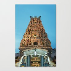 HINDU TEMPLE Canvas Print