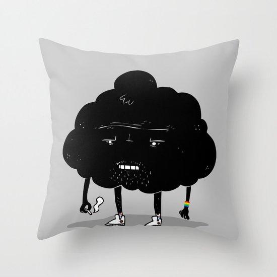 Mr. Optimistic Throw Pillow