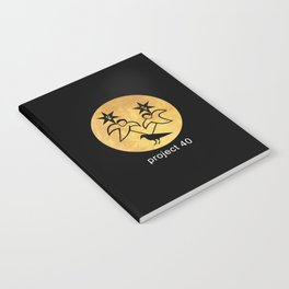 project 40 black Notebook