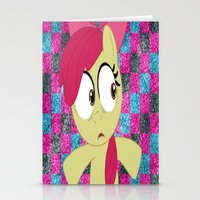 mlp Stationery Cards featuring Apple Bloom MLP by Maranda Rae
