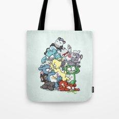 Bear Pile Tote Bag