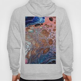 Abstract Acrylic Pour Hoody