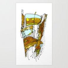 Rawhide Art Print
