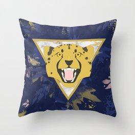 midnight safari Throw Pillow