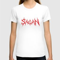 carl sagan T-shirts featuring HAIL SAGAN by Normal-Sized Deet